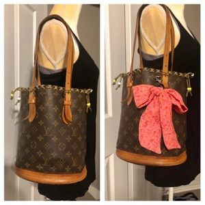 ❤️Authentic Louis Vuitton Bucket PM Purse